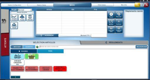 logiciel de caisse commerce